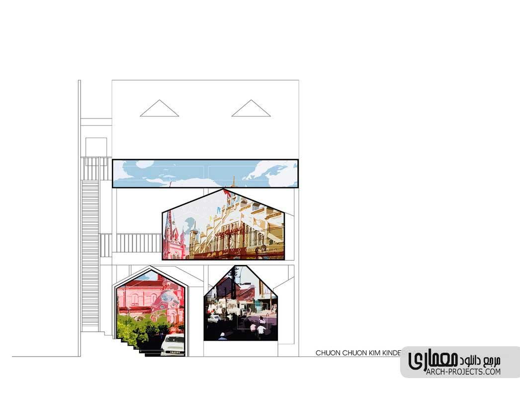 طراحی مهد کودک Chuon Chuon Kim
