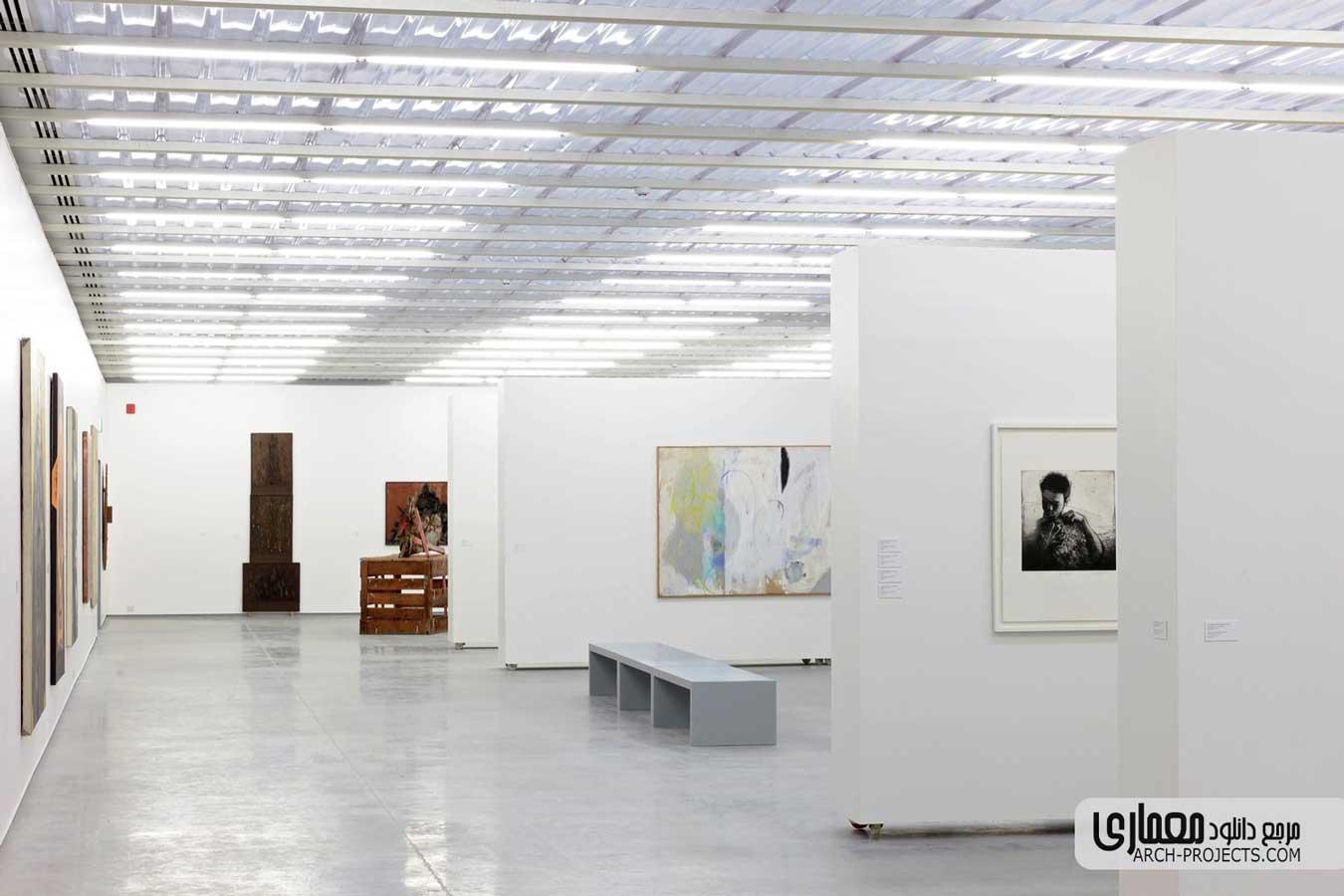 دکوراسیون موزه هنرهای معاصر MAIIAM