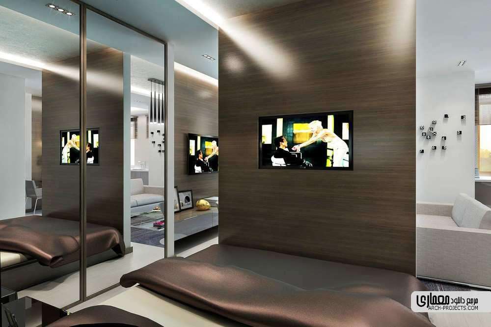 طراحی آپارتمان برای مرد جوان