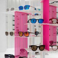 دکوراسیون فروشگاه عینک آفتابی