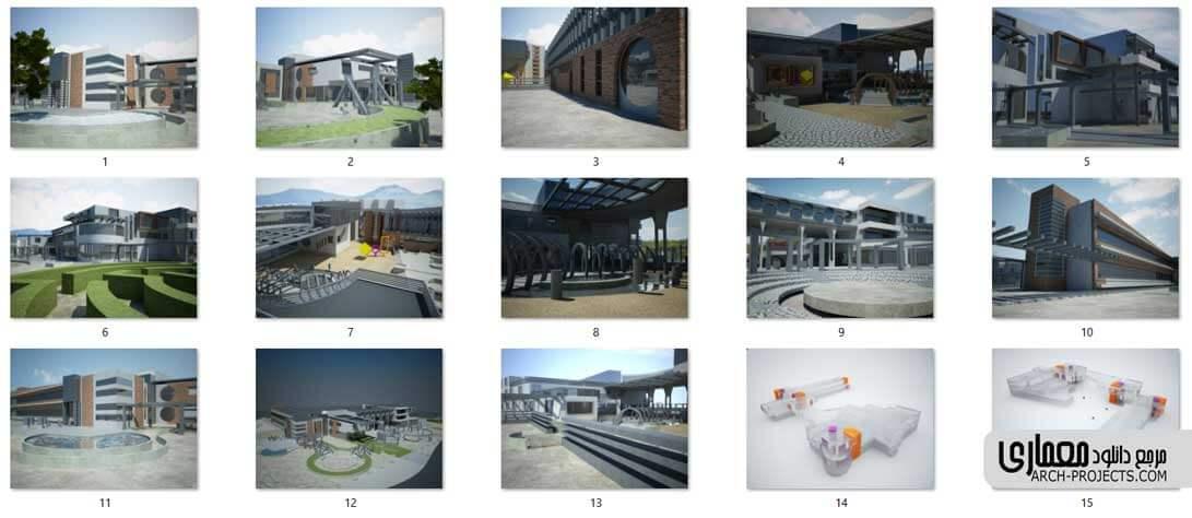 پروژه طراحی شیرخوارگاه