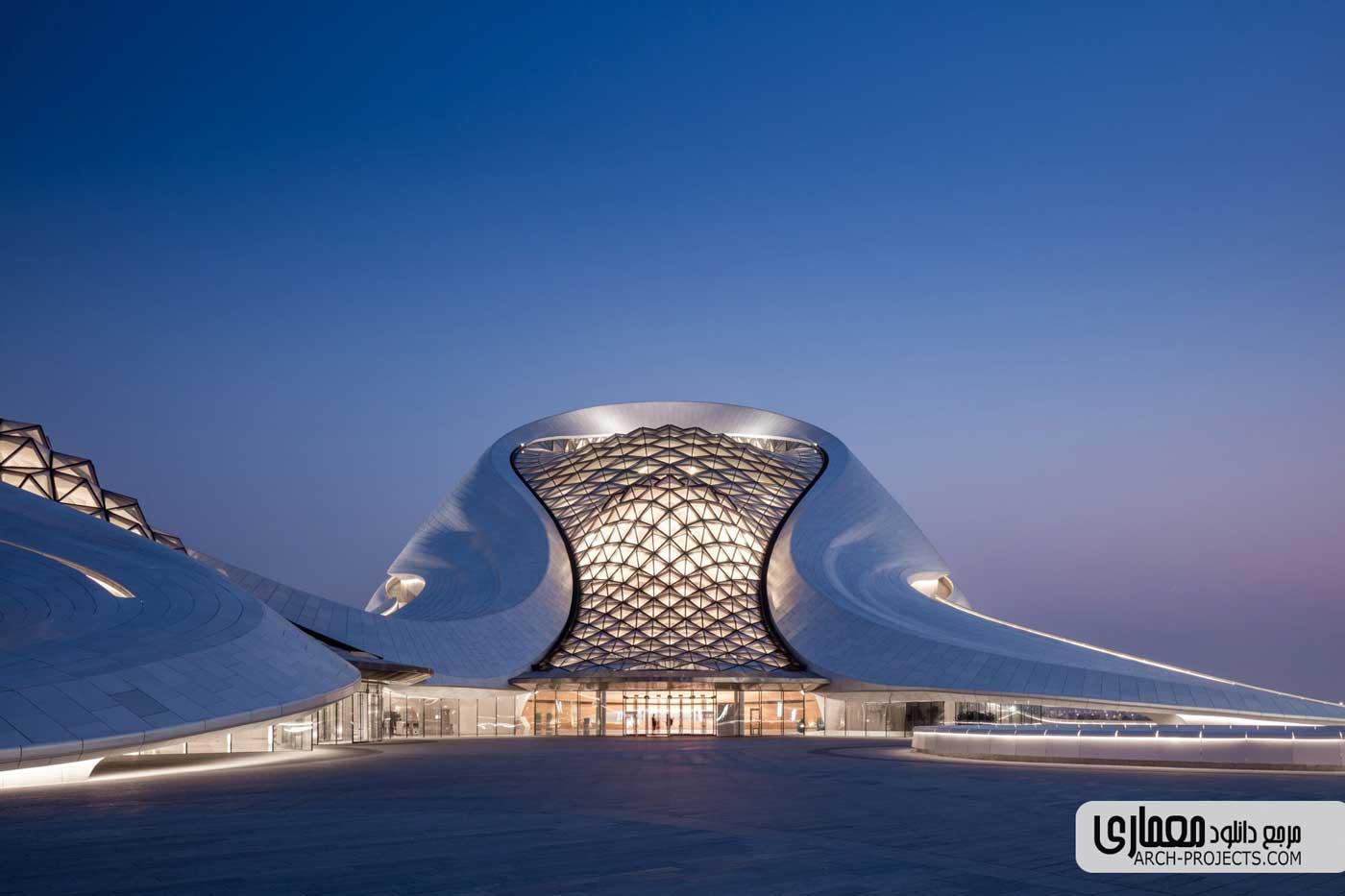طراحی خانه اپرای Harbin