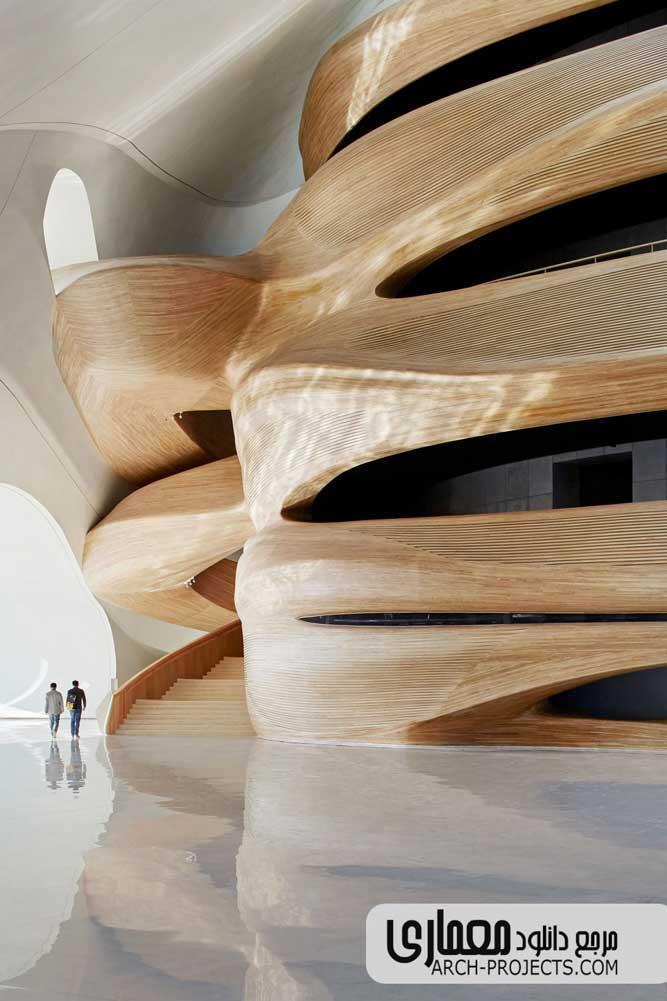 طراحی داخلی خانه اپرای هاربین