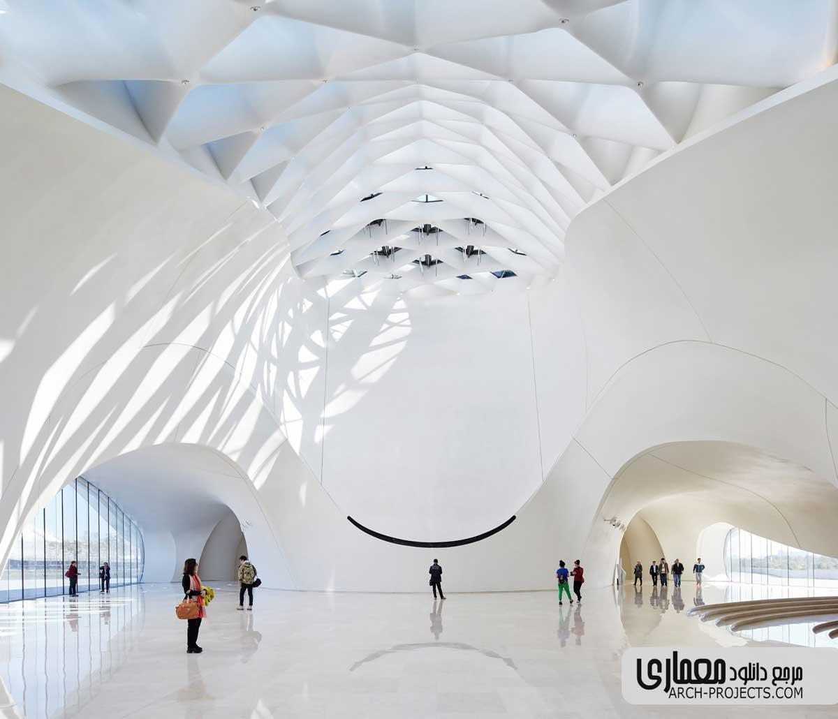 طراحی خانه اپرای هاربین