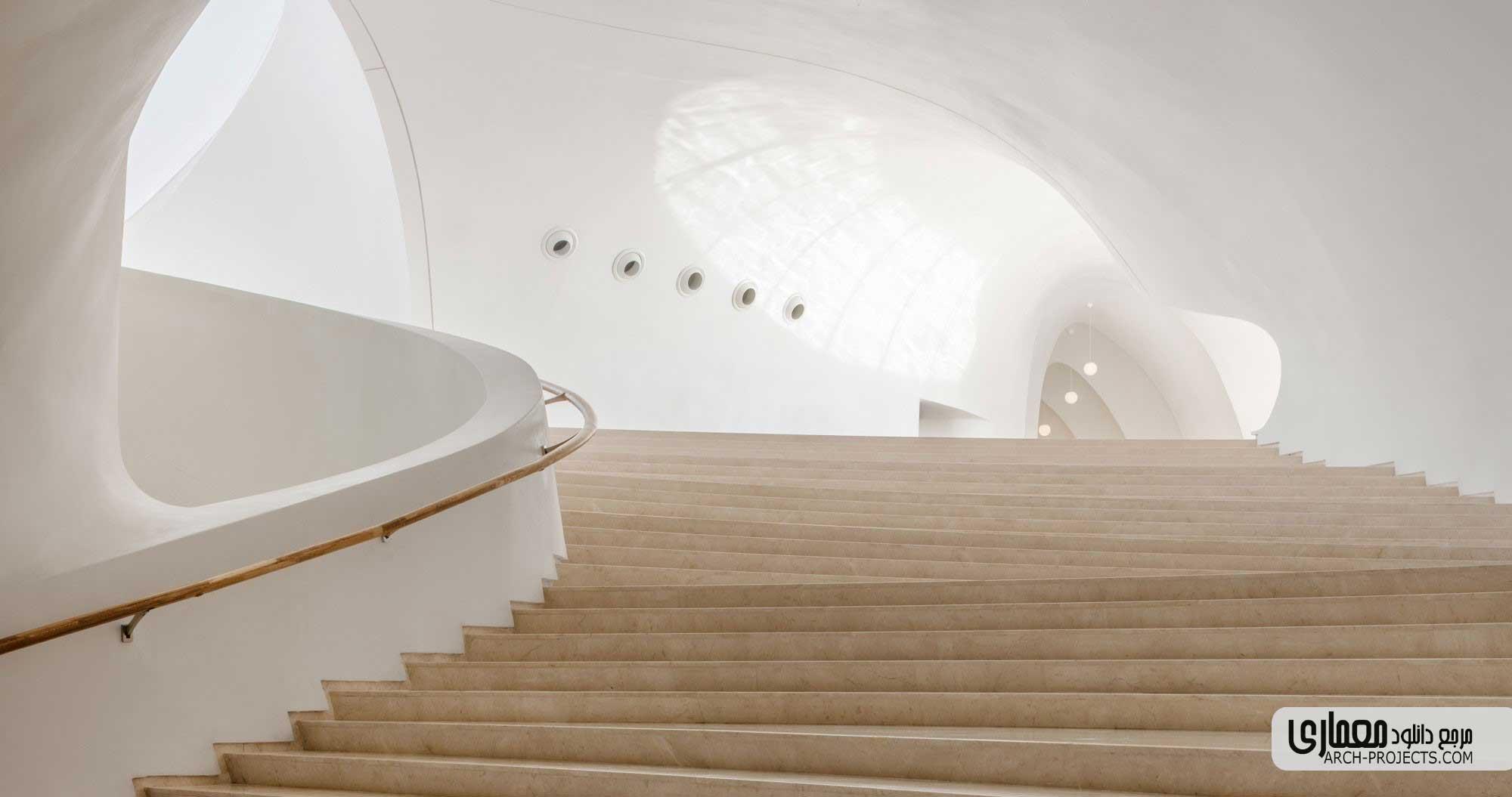 معماری داخلی خانه اپرای هاربین
