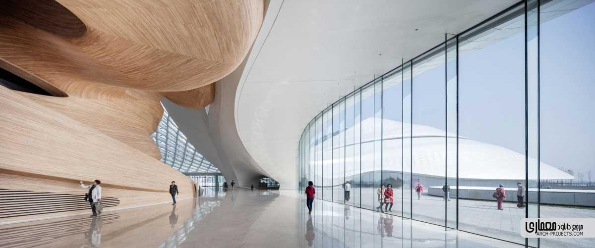 معماری خانه اپرای هاربین