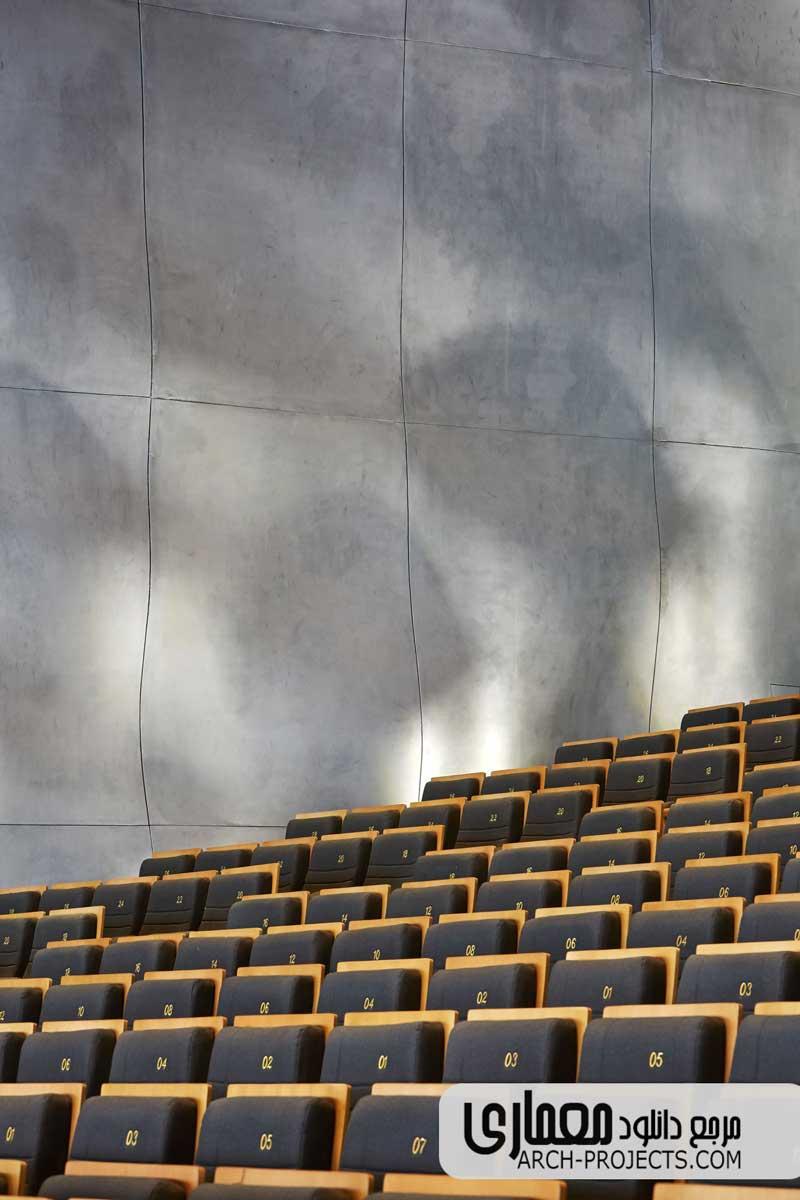 دکوراسیون داخلی خانه اپرای هاربین
