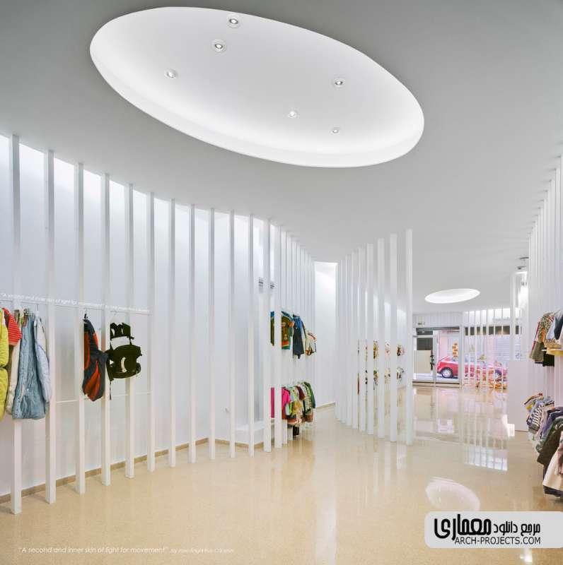 طراحی فروشگاه لباس کودکان