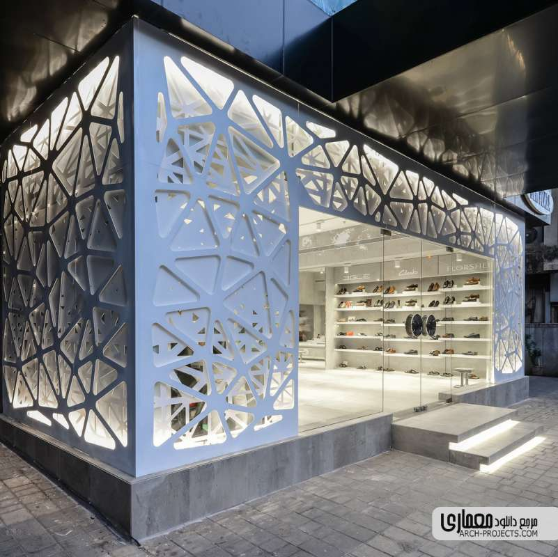 طراحی فروشگاه کفش Regal