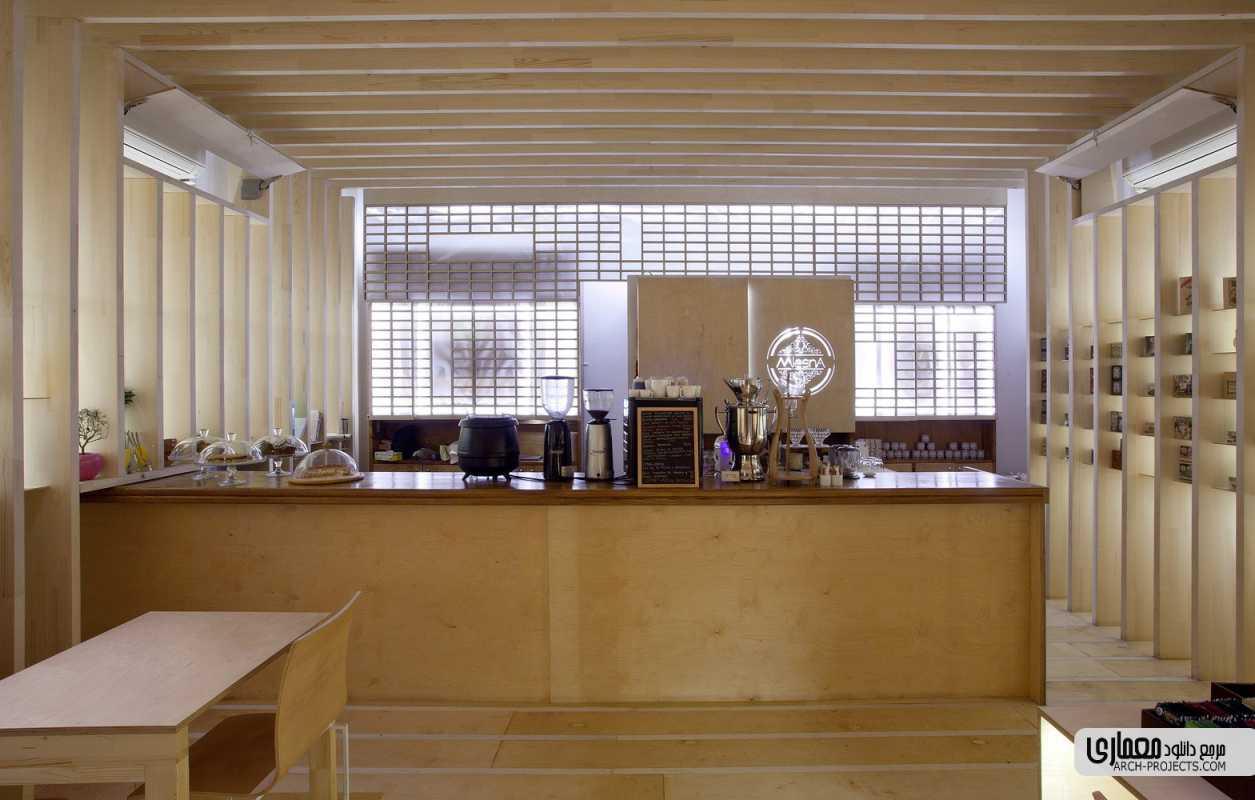 دکوراسیون داخلی قهوه خانه