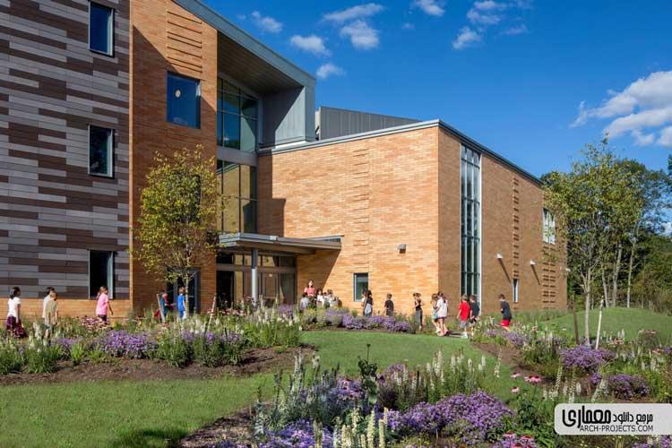 طراحی مدرسه ابتدایی Woodland – آمریکا