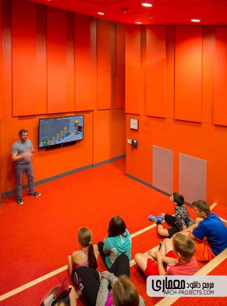 طراحی مدرسه ابتدایی Woodland در آمریکا
