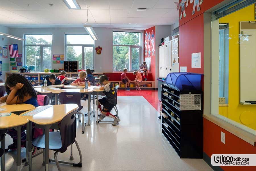 مدرسه ابتدایی Woodland در آمریکا