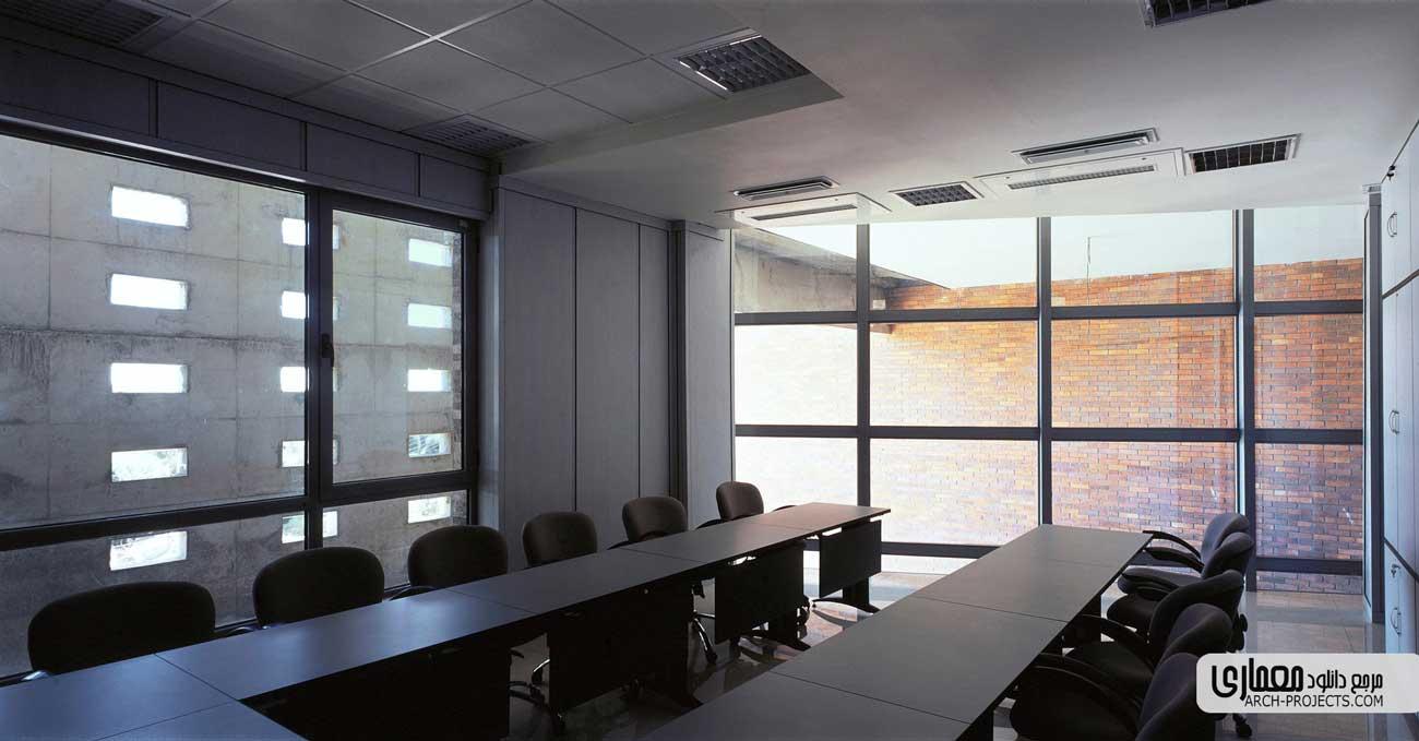طراحی داخلی ساختمان نظام مهندسی قزوین