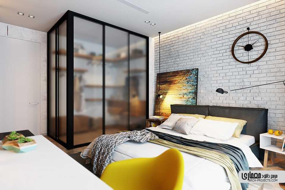 معماری داخلی اتاق خواب