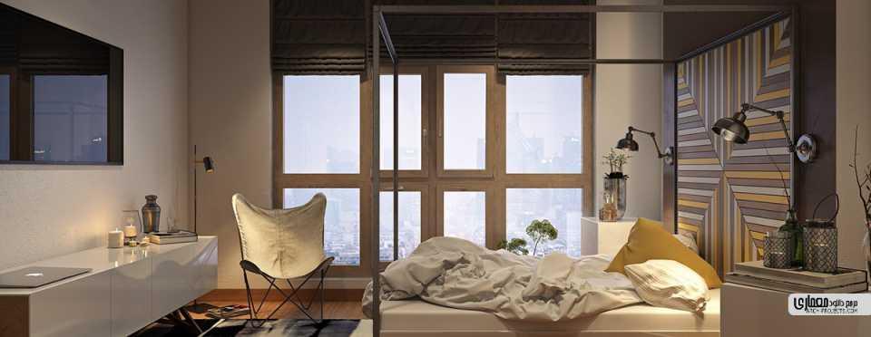 معماری اتاق خواب