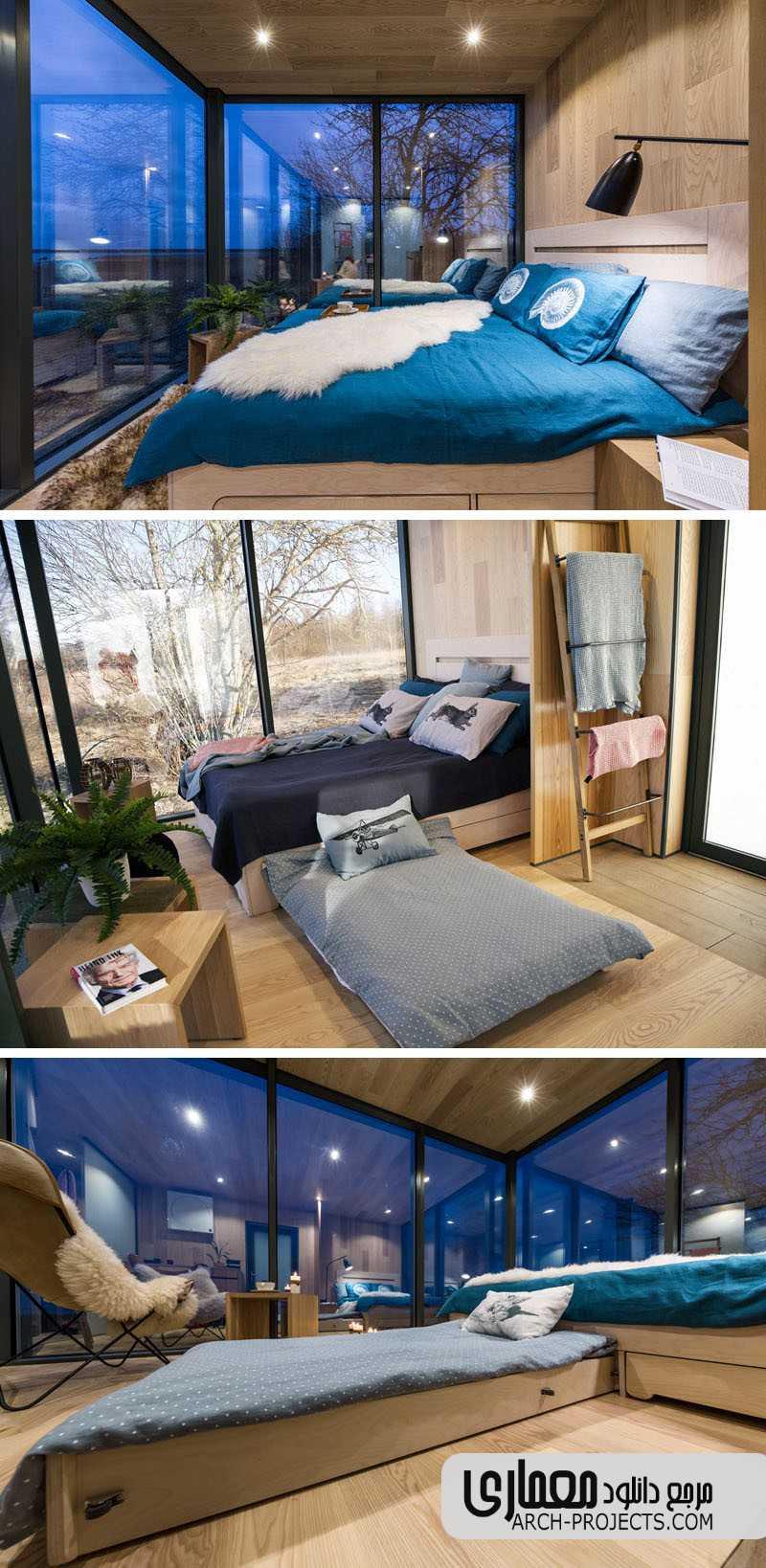 طراحی داخلی خانه مدولار