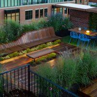 ایده طراحی بام سبز