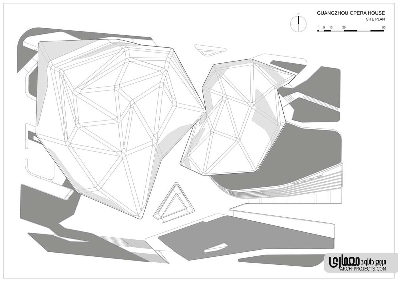 سازه خانه اپرای گوانژو
