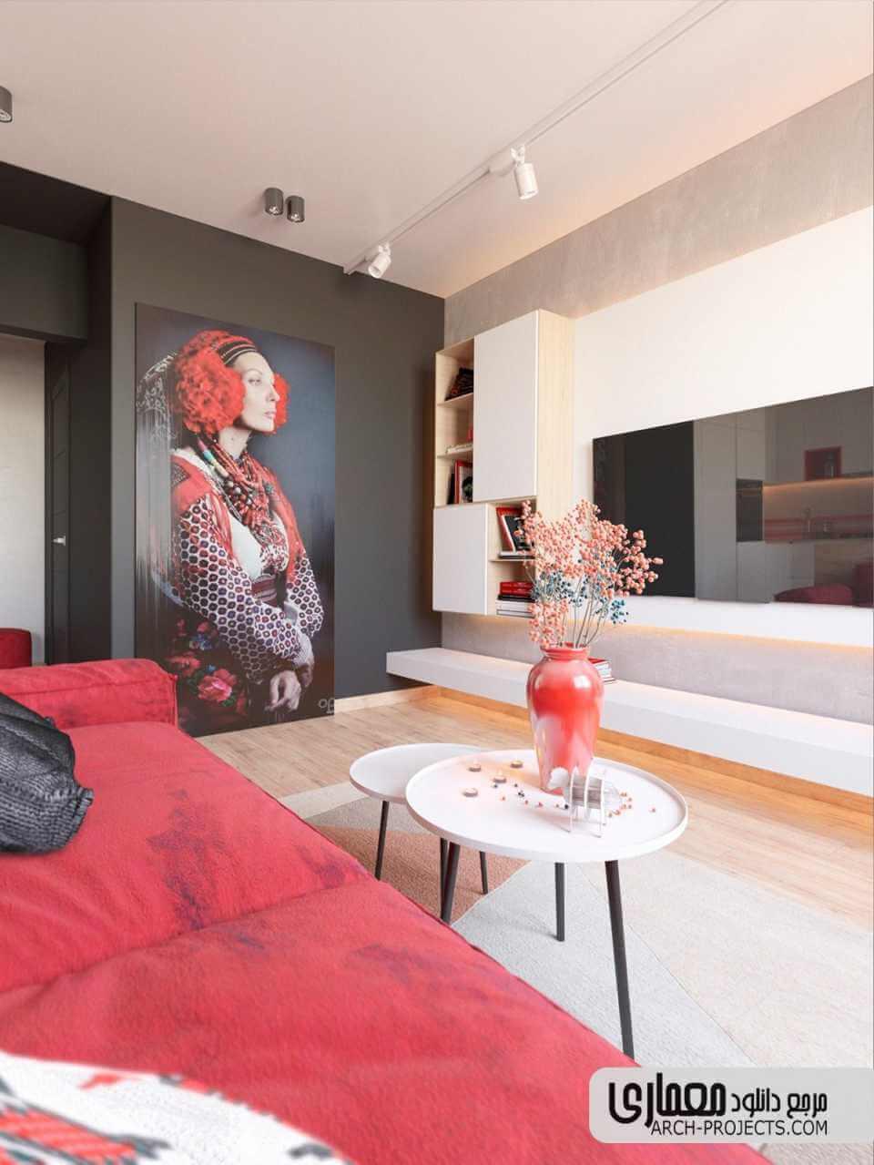 طراحی داخلی آپاراتمان