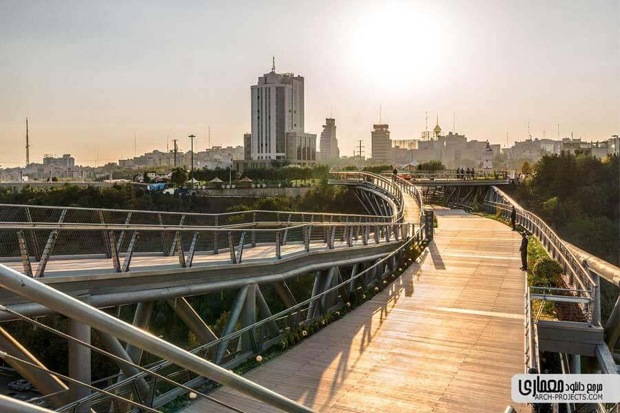 طراحی پل طبیعت