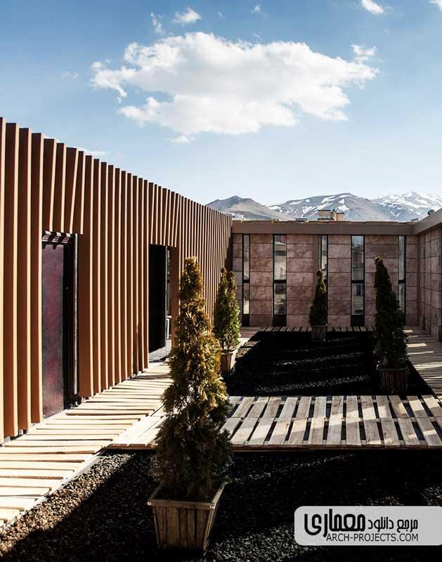 طراحی ساختمان اداری تجاری ترمه