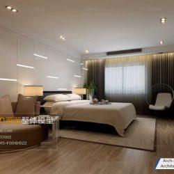 دانلود مدل سه بعدی اتاق خواب مدرن – ولوم1-3