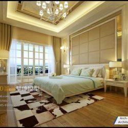 دانلود مدل سه بعدی اتاق خواب مدرن – ولوم4-6