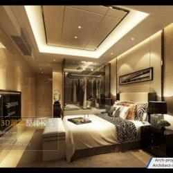 دانلود مدل سه بعدی اتاق خواب مدرن – ولوم7-9