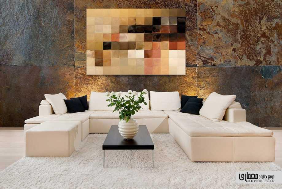 دکوراسیون خانه با هنر مدرن