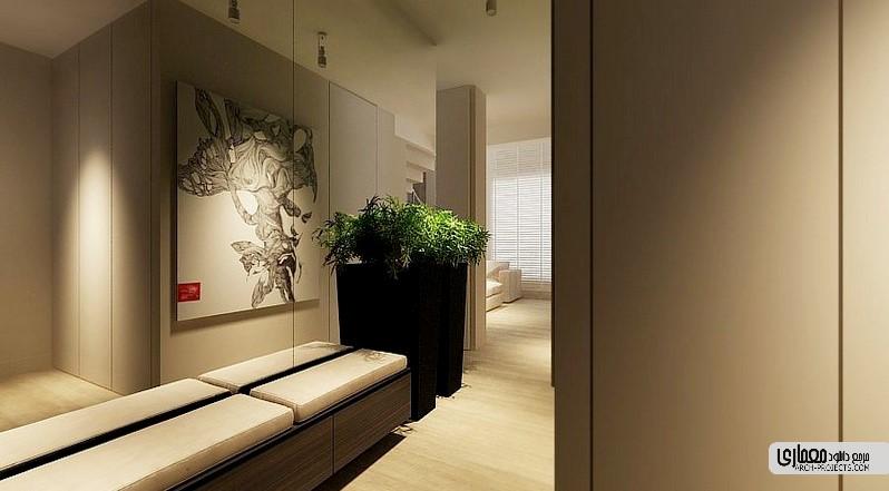 طراحی داخلی با رتگ خنثی