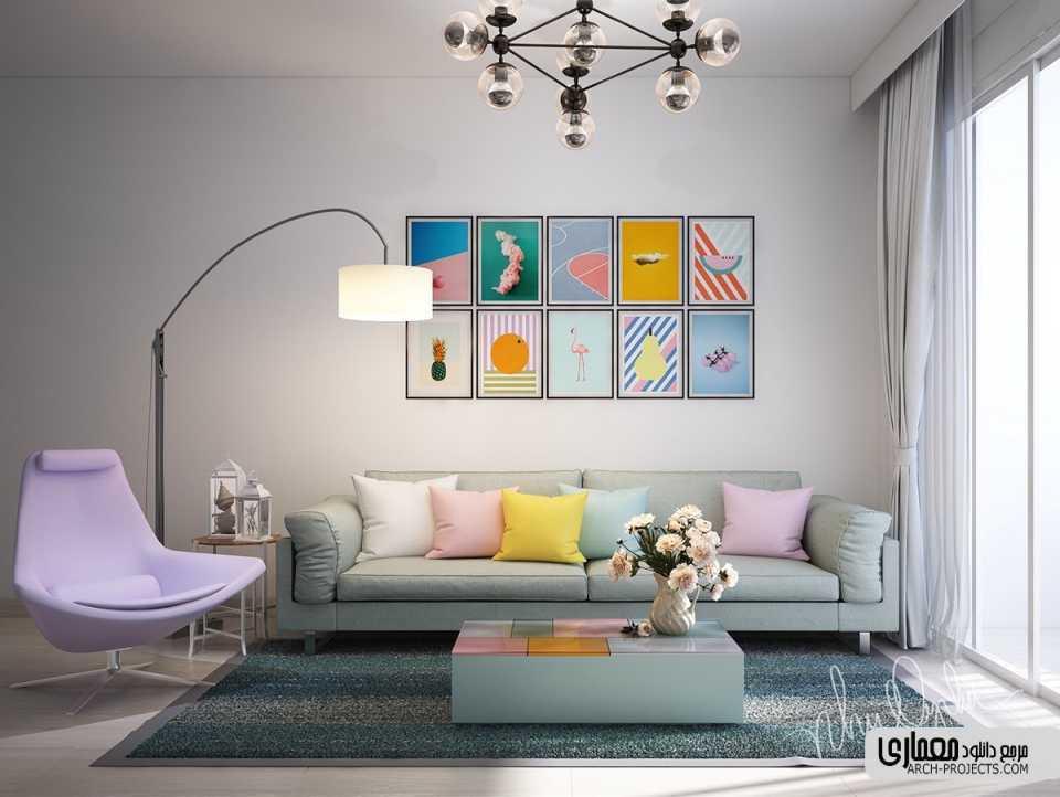 چگونه از طعم هنر برای جان دادن به محیط اتاق تان استفاده کنید