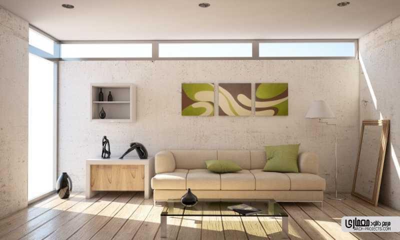 هنر برای جان دادن به محیط اتاق