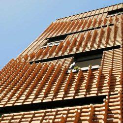 طراحی خانه آجری