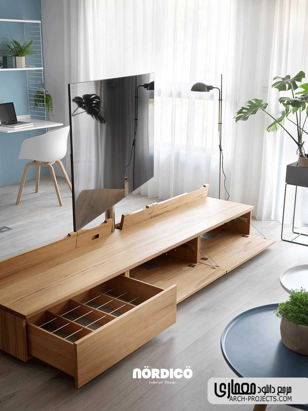 ایده طراحی خانه مدرن