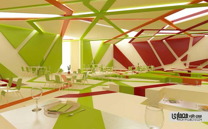 رنگ در معماری داخلی