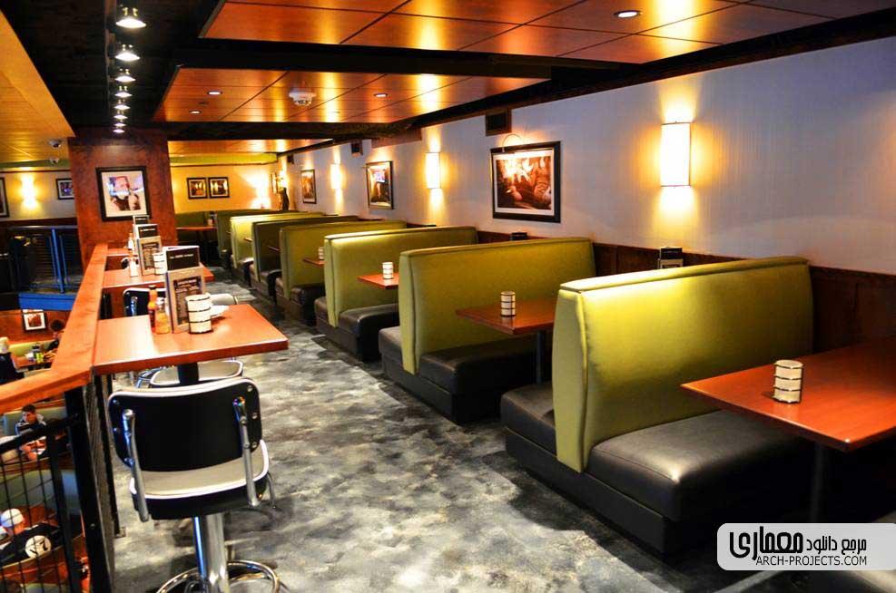 رنگ در طراحی داخلی رستوران