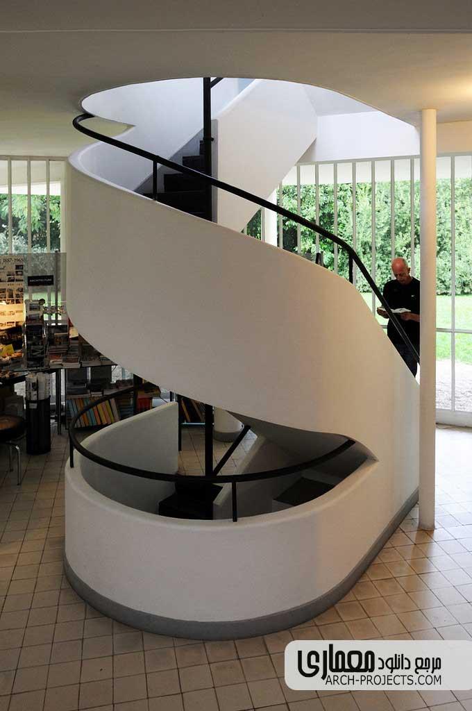 طراحی داخلی ویلا ساوا