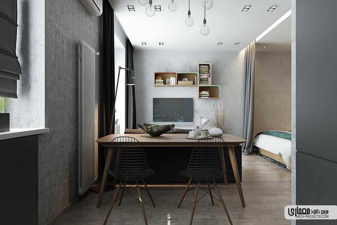 طراحی خانه 50 متری