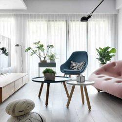 ایده طراحی خانه مدرن و رنگارنگ