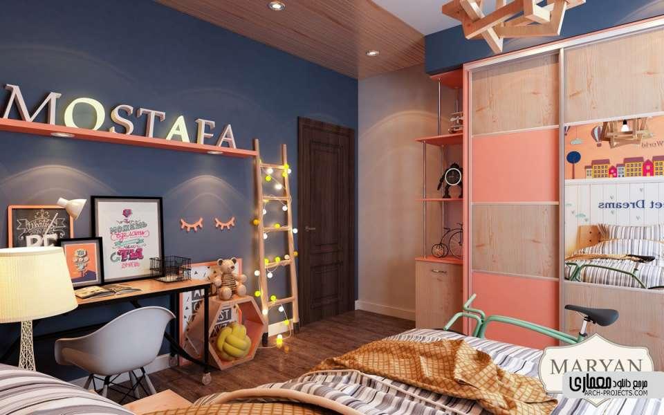 طراحی اتاق کودک با رنگ صورتی