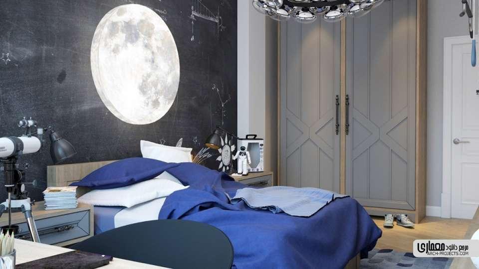 دکوراسیون داخلی اتاق خواب کودک
