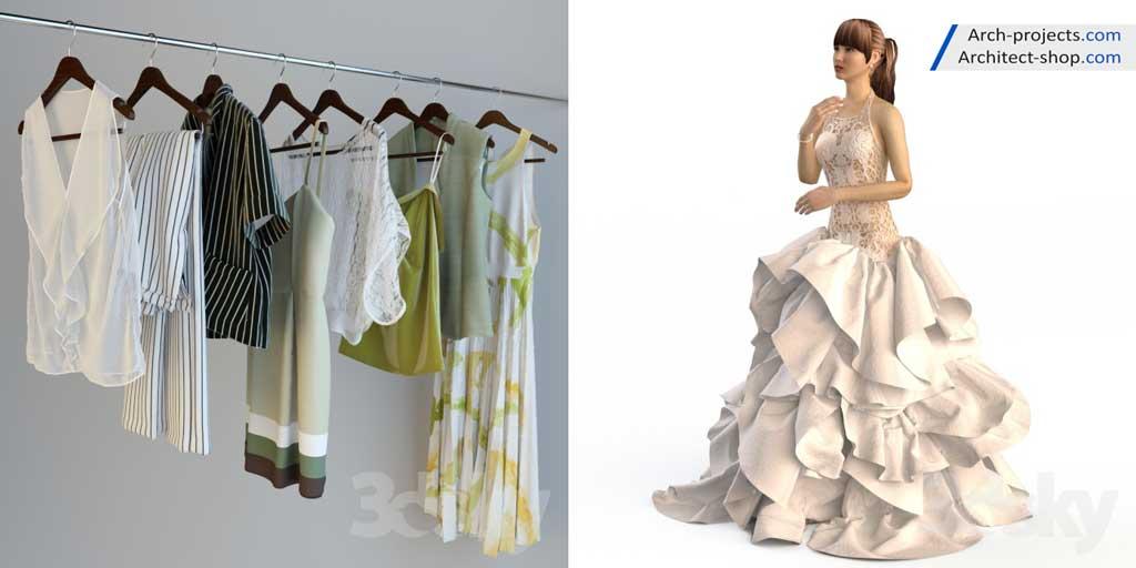 آبجکت لباس عروس