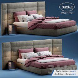 دانلود مدل سه بعدی تخت خواب – بخش 1
