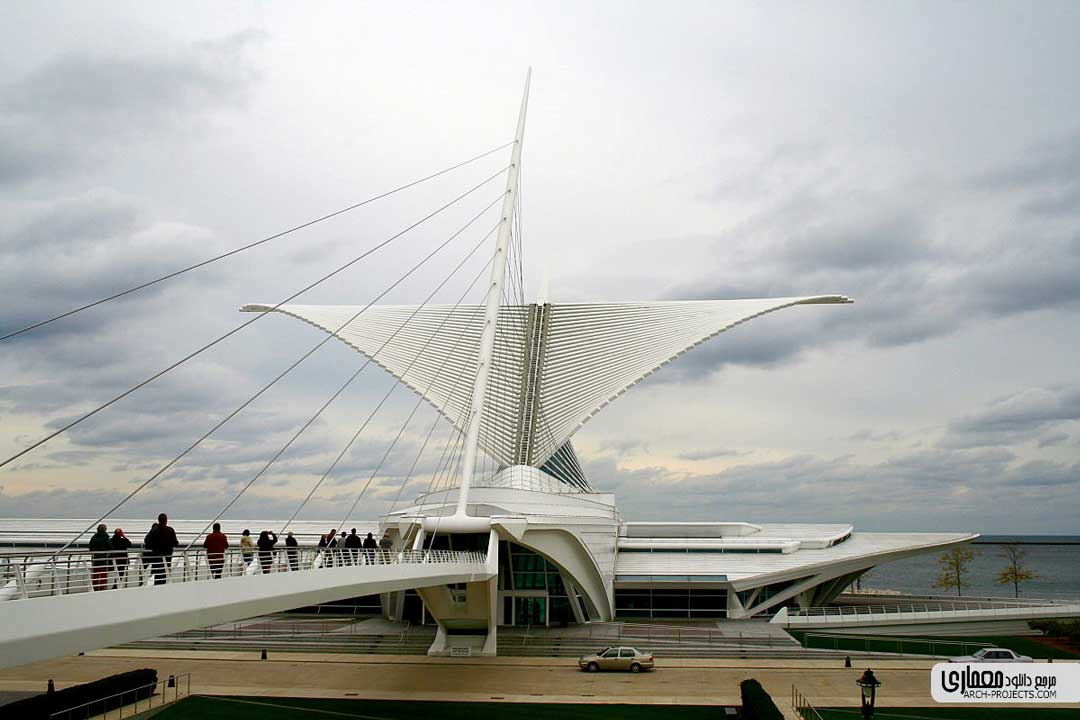 معماری موزه هنر میلواکی