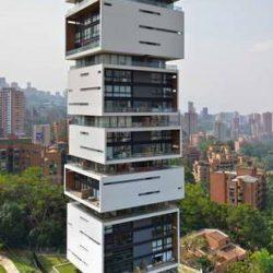 طراحی برج مسکونی انرژی زنده – کلمبیا