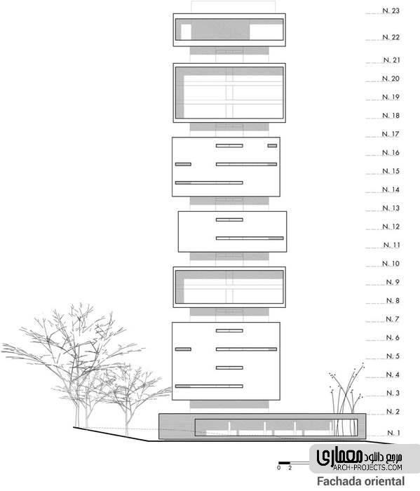برج مسکونی انرژی زنده