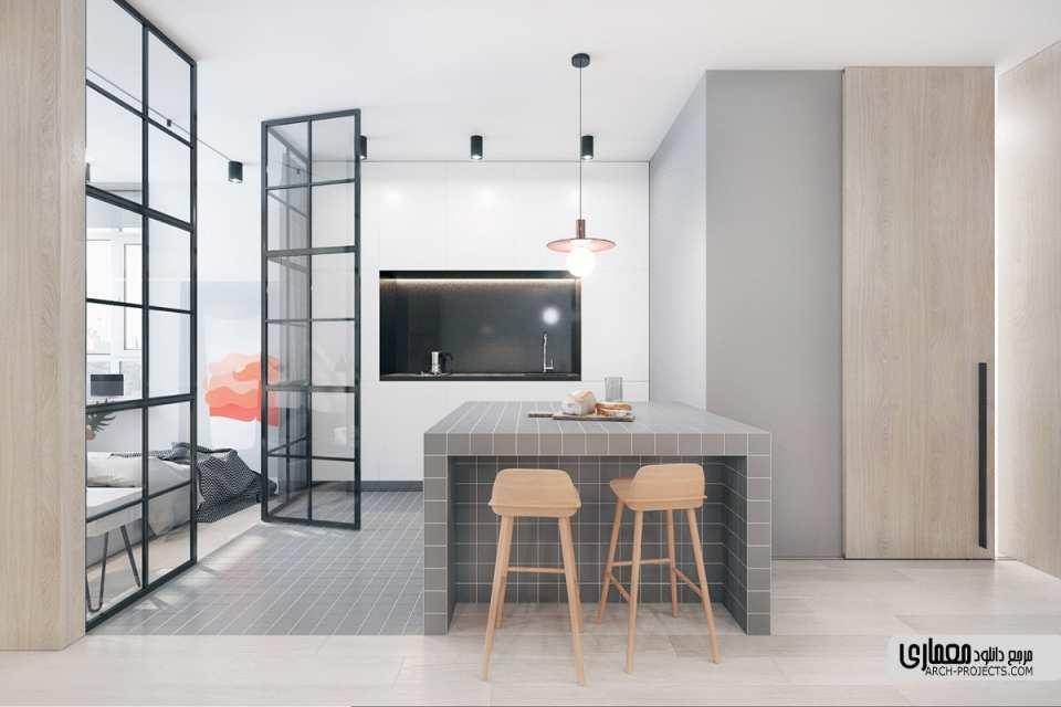 معماری آشپزخانه