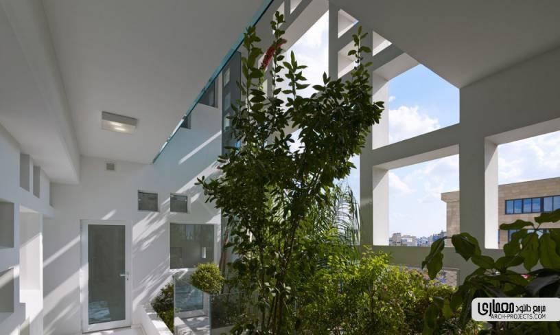 طراحی برج سبز