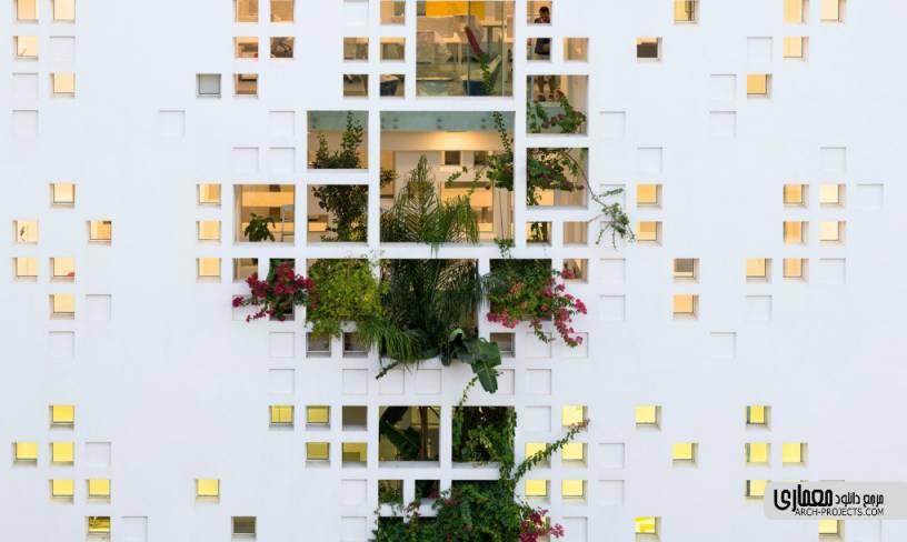 طراحی برج سبز قبرس